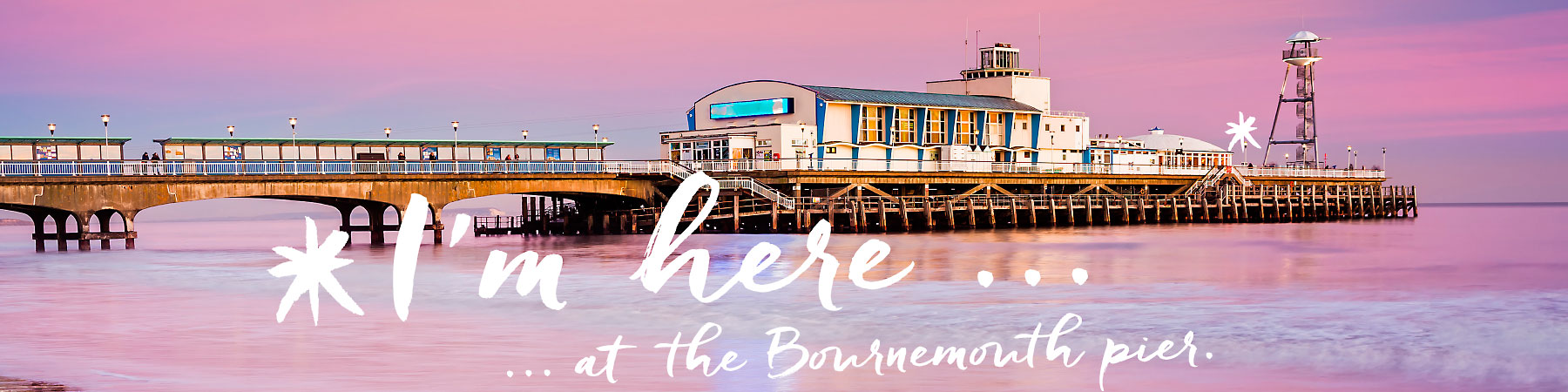 I'm here ... at the Bournemouth Pier.