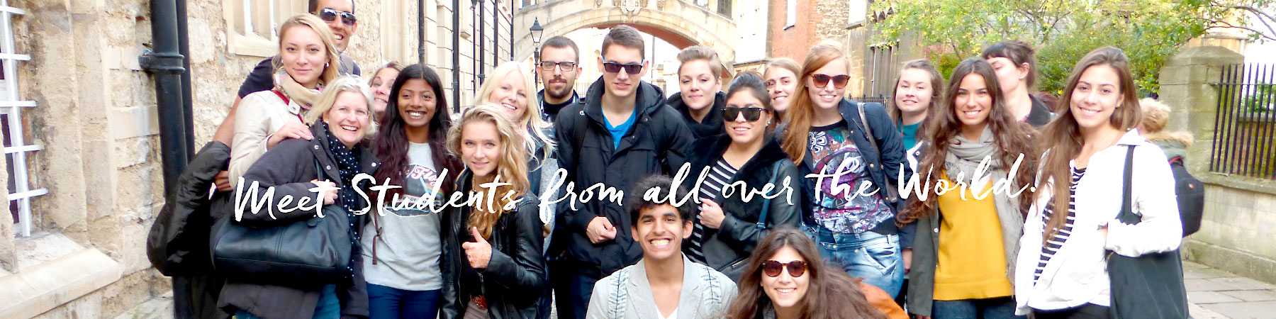 Meet students from all over the world